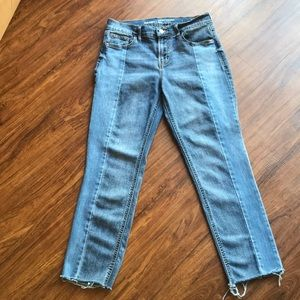 Old navy mid-rise perfect straight jeans size 4